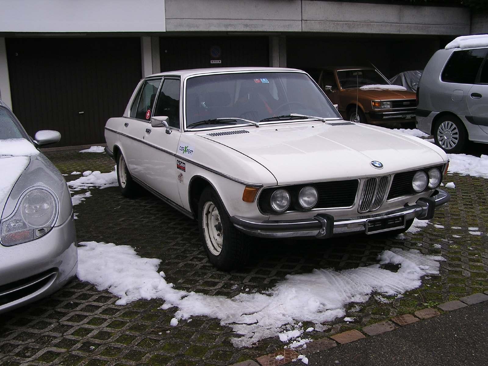 Oldtimer mieten BMW 3.0 S  bei der Garage Langächer